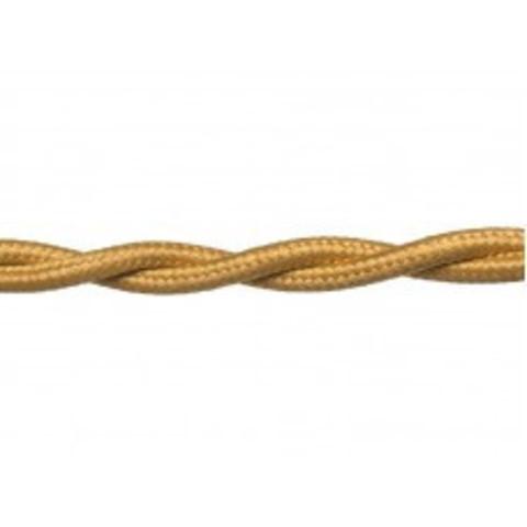 Провод витой 2х1,5 золото