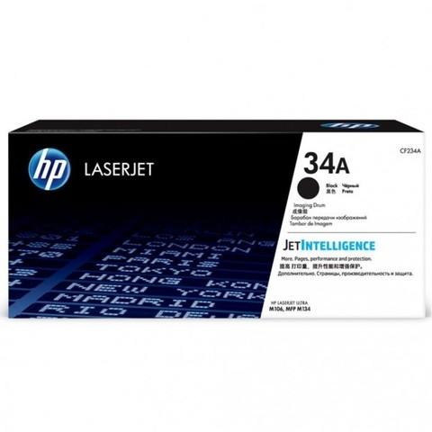 Оригинальный фотобарабан HP CF234A 34A черный
