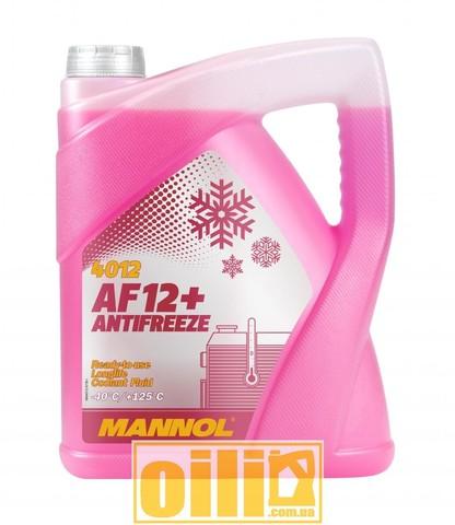 Mannol 4012 Antifreeze AF12+ -40°C Longlife 5л
