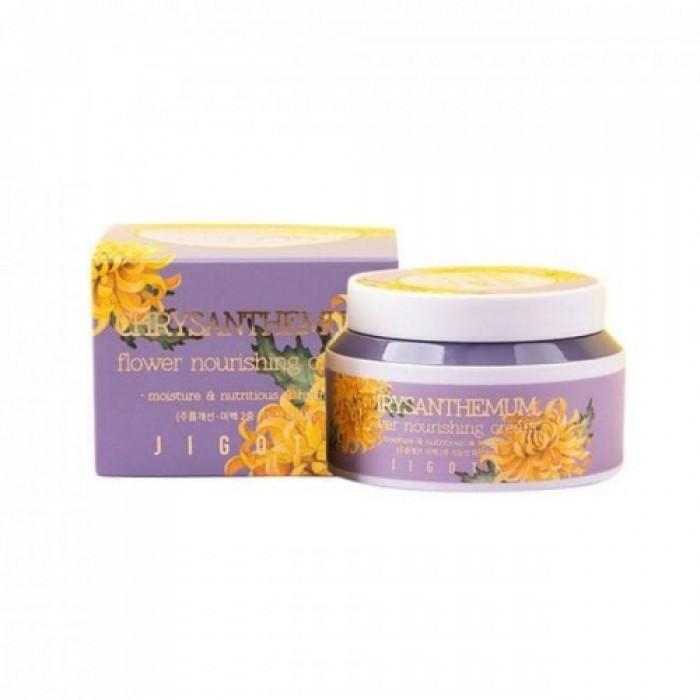 JIGOTT Крем для лица ХРИЗАНТЕМА JIGOTT CHRYSANTHEMUM Flower Nourishing Cream 100 мл product_2458_0_image-700x700.jpg