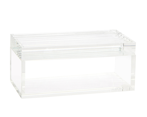 Horizontal Cut Crystal Box