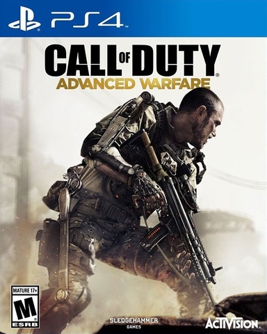 Call of Duty: Advanced Warfare (PS4, русская версия)