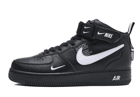 Nike Air Force 1 Mid 07 LV8 'Black'