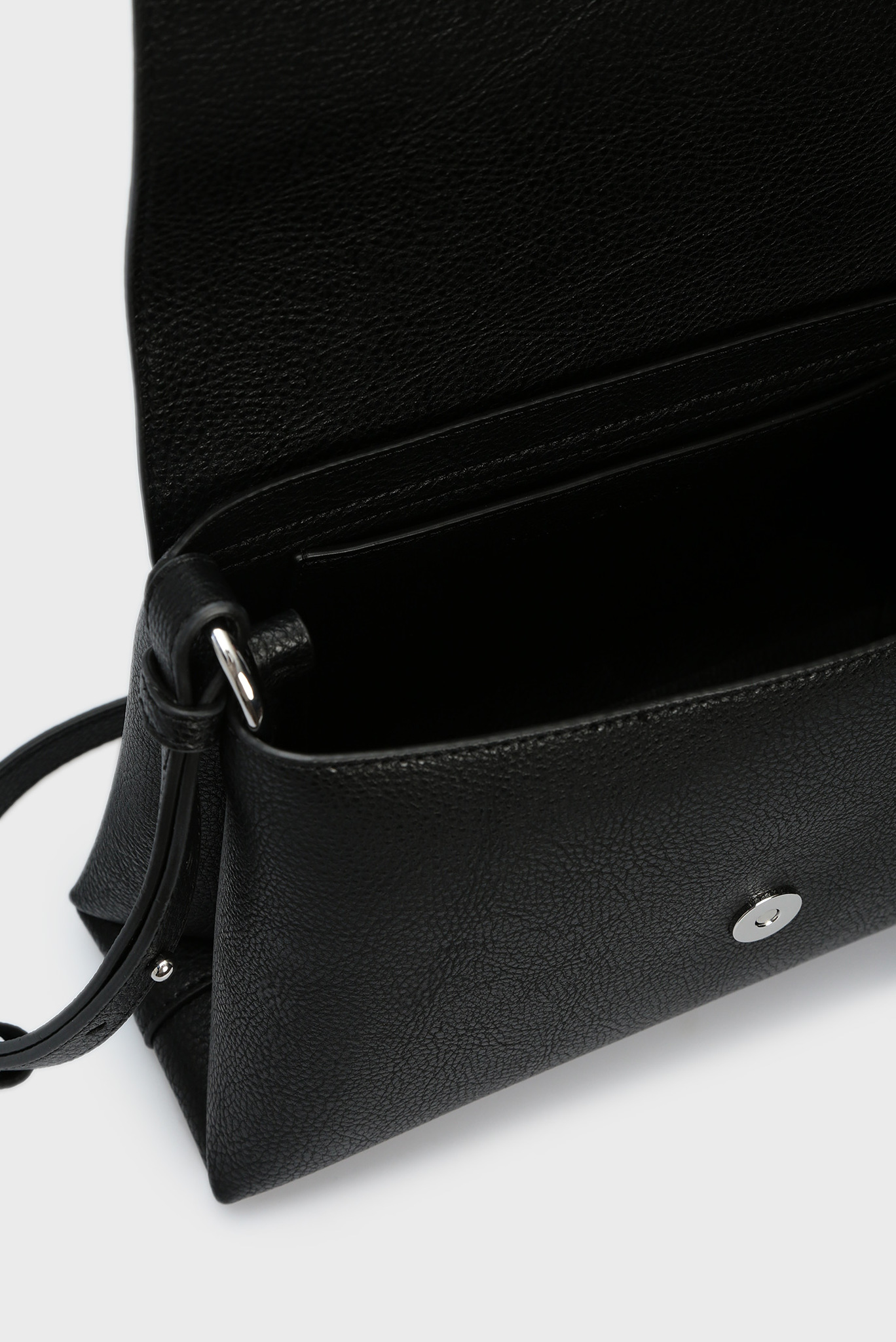 Женская черная сумка через плечо TH CORE FLAP Tommy Hilfiger