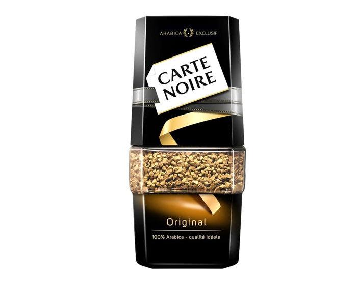 купить Кофе растворимый Carte Noire Original, 190 г стеклянная банка
