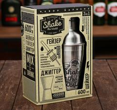 Набор для приготовления коктейлей «Shake this world», фото 2