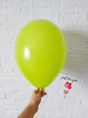 Воздушные шары лайм