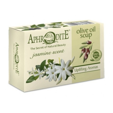 Мыло оливковое с ароматом жасмина