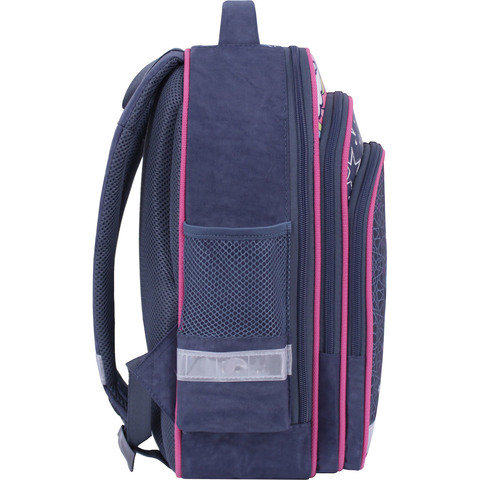 Рюкзак школьный Bagland Mouse 321 серый 511 (00513702)