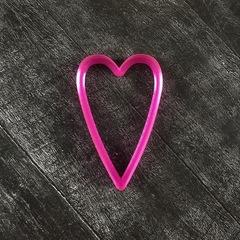 Сердце №9 вытянутое