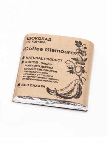 Шоколад из Кэроба Coffee Glamour 50г Био Кухня Урожай