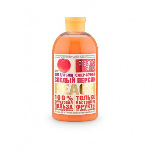 """Пена для ванны """"Спелый персик"""""""