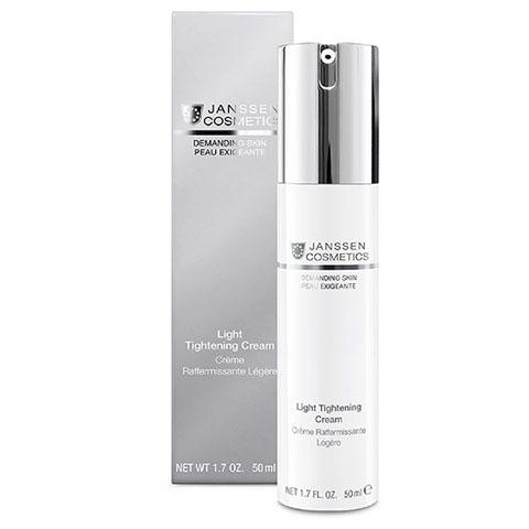 Janssen Demanding Skin: Легкий подтягивающий и укрепляющий крем для лица (Light Tightening Cream)