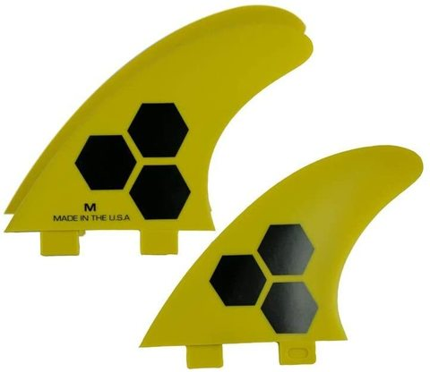 Channel Islands FCS Thruster  M Yellow