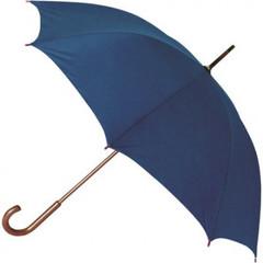 Зонт-трость Радуга полуавтомат синий (906102)