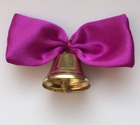 Колокольчик с фиолетовой лентой