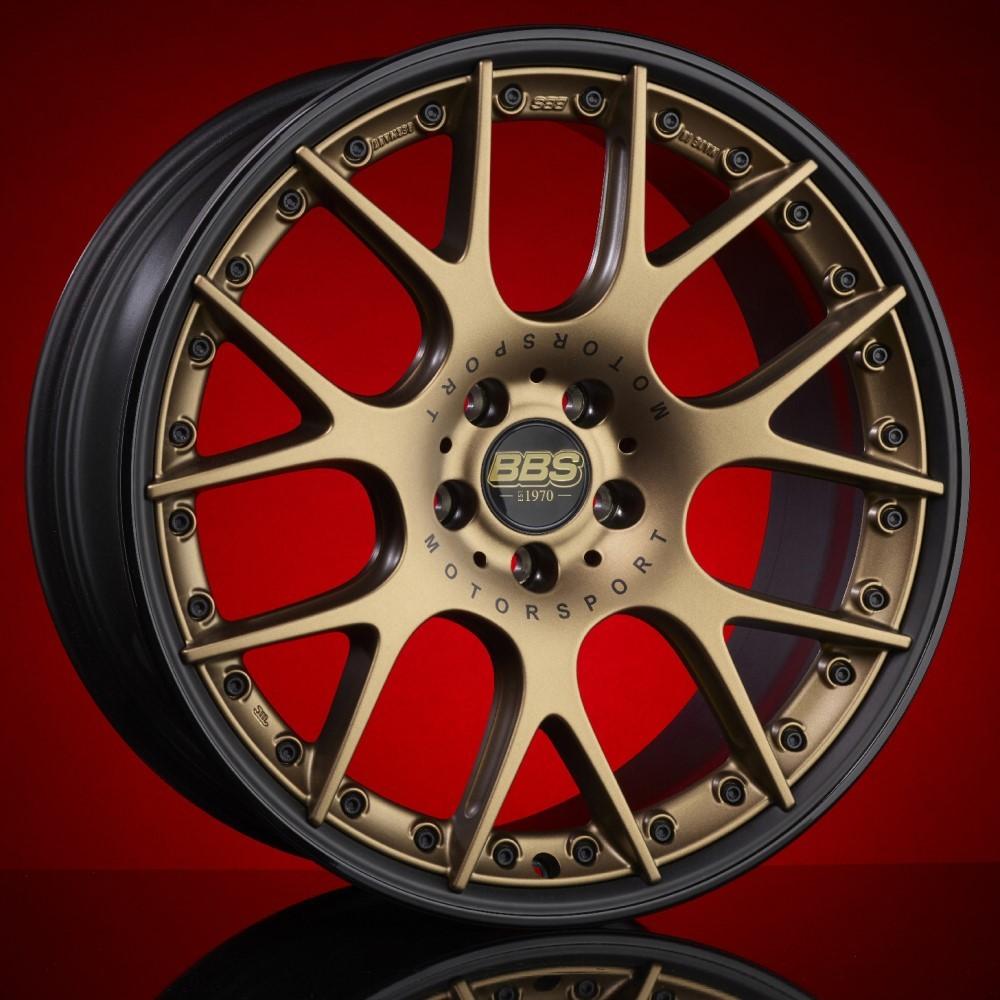 Диск колесный BBS CH-R II 11.5x22 5x130 ET58 CB71.6 satin bronze