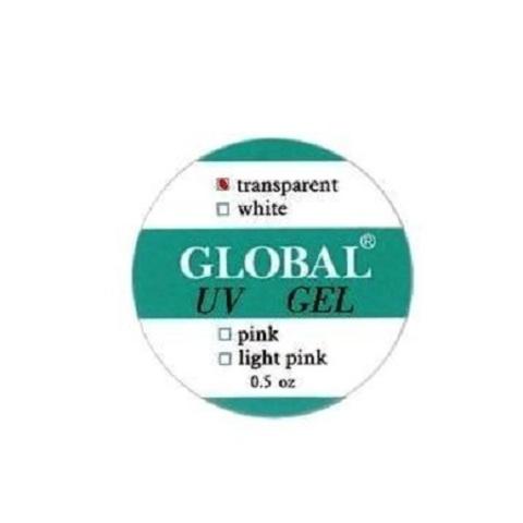 Гель для наращивания  Global - прозрачный, 15 мл