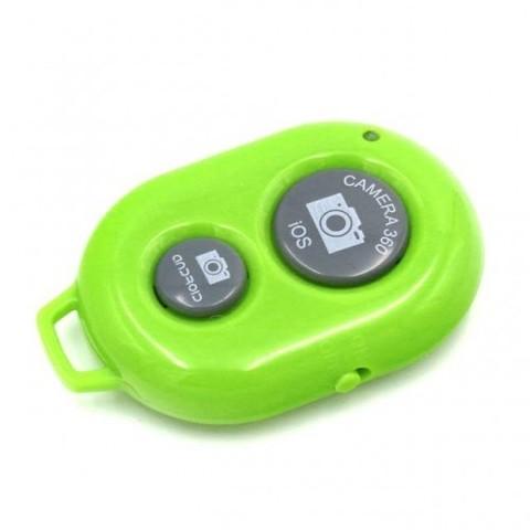 Пульт управления фотокамерой смартфона Bluetooth-кнопка Android и iOS зелёный