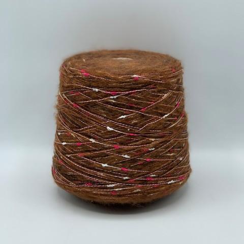 Бобинная пряжа (пр.Италия),200м/100гр. 60%мохер 40%остальные волокна , цвет-Мультиколор, арт.8778