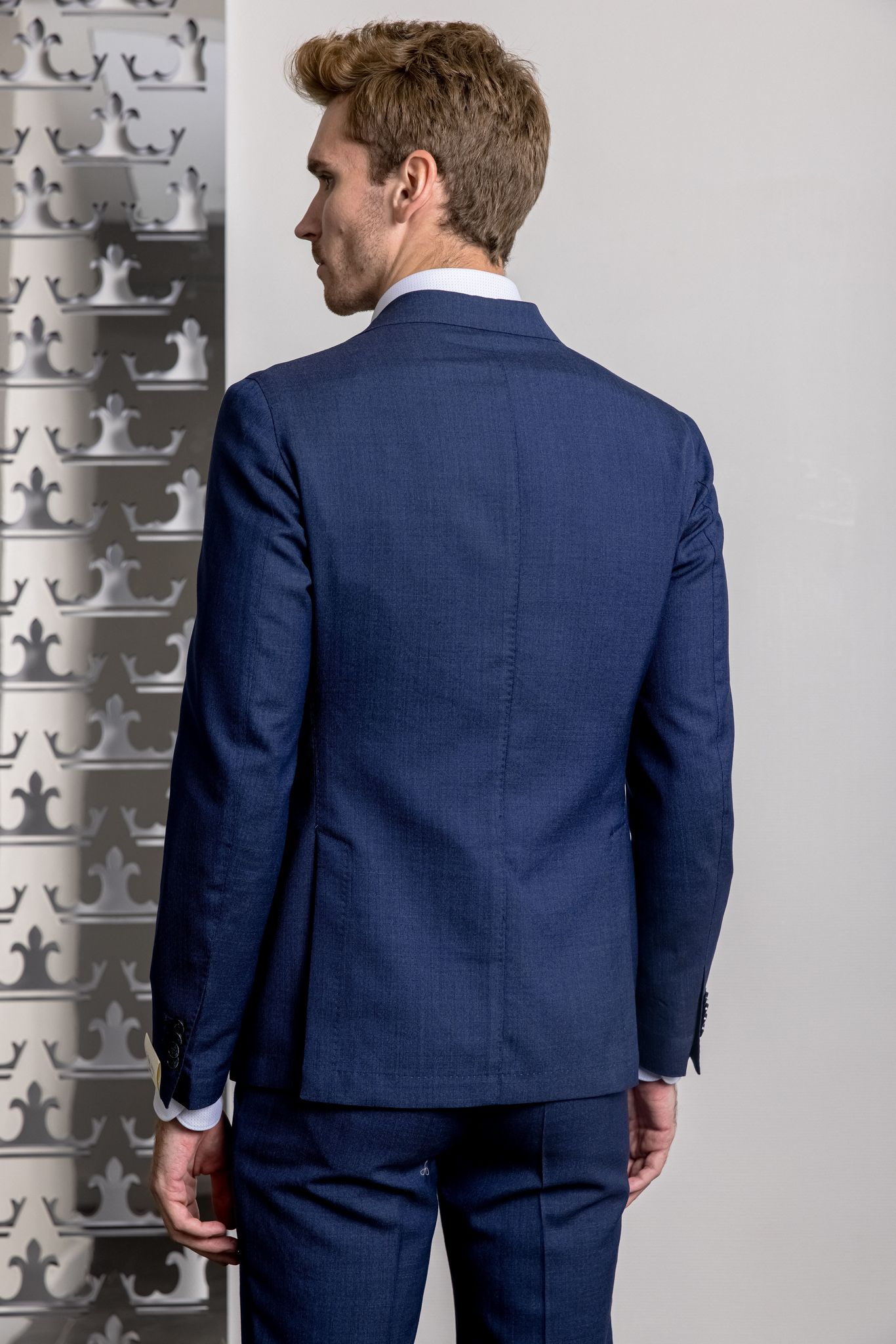 Lubiam Костюм с накладными карманами