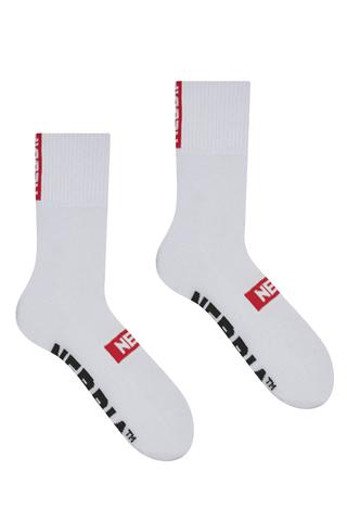 Спортивные носки фирмы Nebbia Extra Mile crew socks 103 white