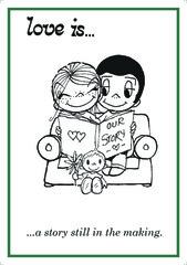 Açıqca\Открытки\Postcard Love is... 10
