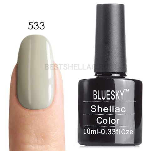 Bluesky Shellac 40501/80501 Гель-лак Bluesky № 40533/80533 Cityscape, 10 мл 533.jpg