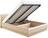 Кровать ОЛИВИЯ-1600 с мягкой спинкой и подъемным механизмом