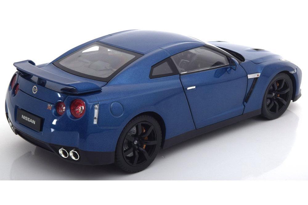 Коллекционная модель NISSAN GT-R (R-35) 2008 BLUE METALLIC