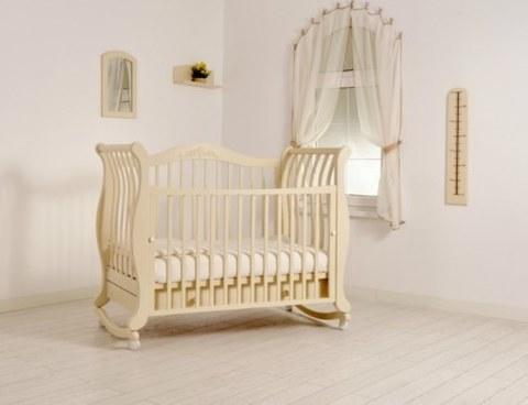 Кровать Гандылян Габриэлла К-2002-31 слоновая кость