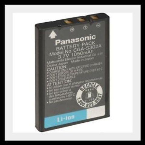 Panasonic CGA-S302 замена FUJIFILM NP-60