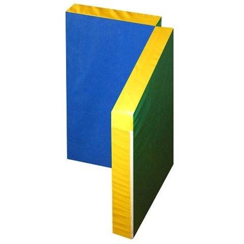 Мат гимнастический (скл) 1,0х1,0х0,1м (Атлет) (к 58)