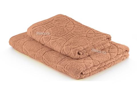 Полотенце махровое жаккардовое (Капучино)