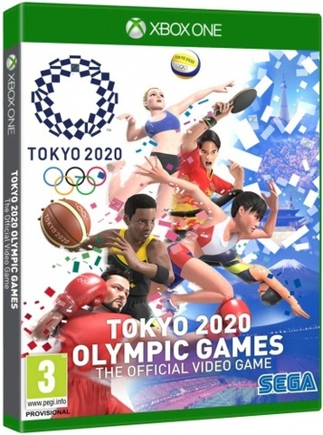 Tokyo 2020 Olympic Games Official Videogame (Xbox, русские субтитры)