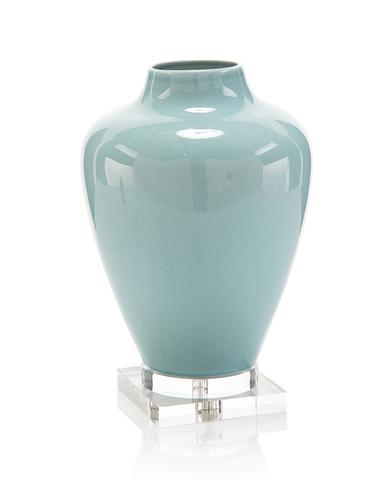 Soft Blue Ceramic Vase