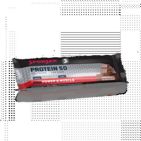Sponser Протеин 50 Бар (20х70 г.) - Шоколад
