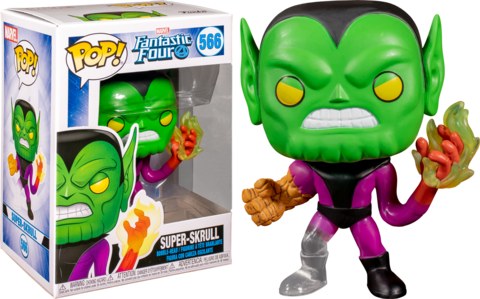 Super-Skrull (Fantastic Four) Funko Pop! || Супер Скрулл