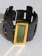 Тимора-нефрит  (кольцо  из серебра)