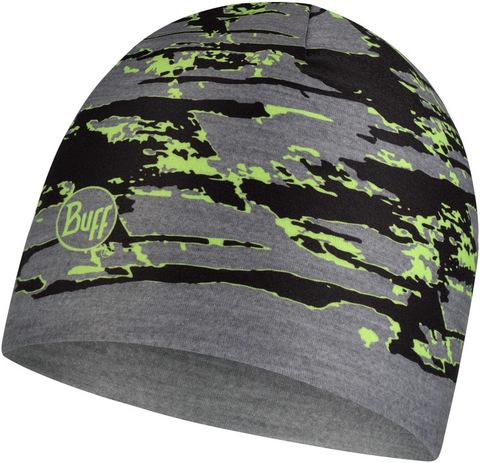 Тонкая теплая спортивная шапка Buff Hat Thermonet Slab Multi фото 2