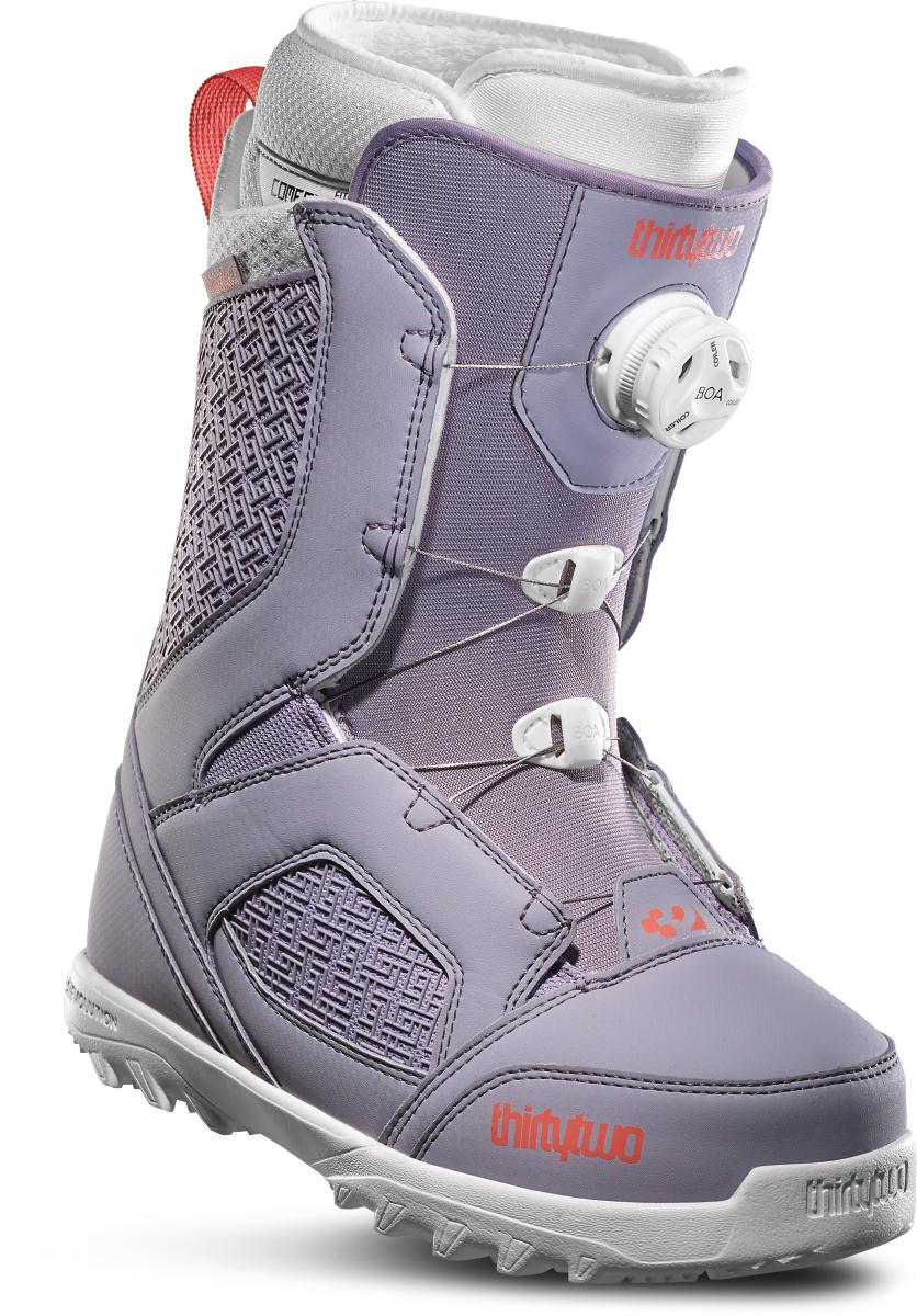 Ботинки сноубордические Thirtytwo Stw Boa W'S '19 - purple