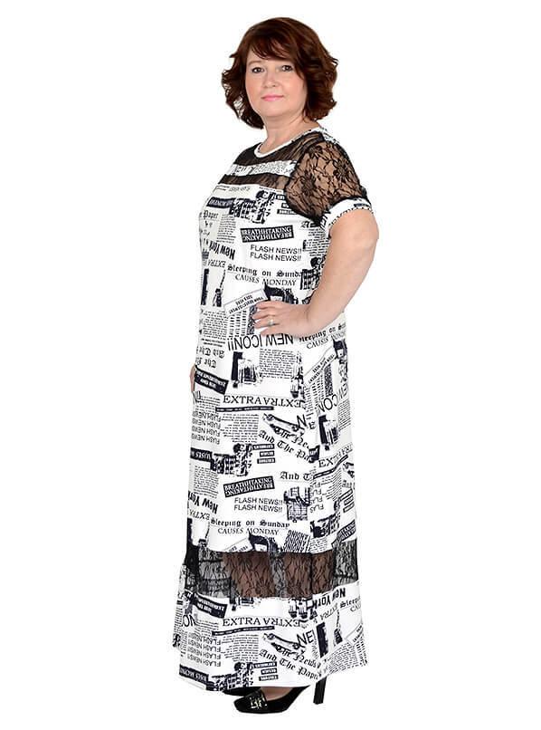 Платье с кружевом Эрида