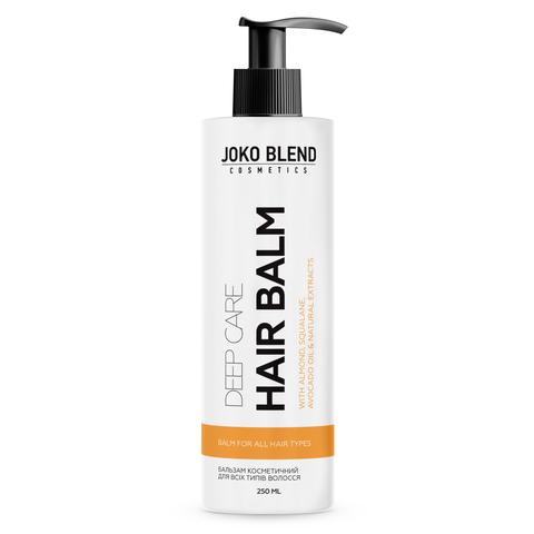 Безсульфатний шампунь-кондиціонер + Бальзам для всіх типів волосся Deep Care + Набір резинок Power Bobble Light Pink Mix В ПОДАРУНОК! (3)