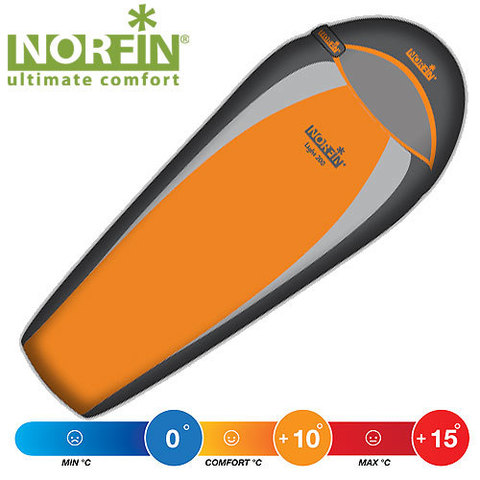 Спальник NORFIN Light 200 Sport (молния слева)