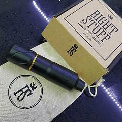 RIGHT STUFF ROTARY PEN TATTOO MACHINE HORNET (BLACK) 32 mm