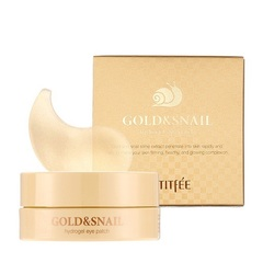 Патчи для глаз PETIFEE Gold&Snail Hydrogel Eye Patch 1.4g X 60ea
