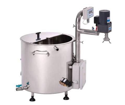 Автоматическая сыроварня с мешалкой Молзавод 35 л, фото