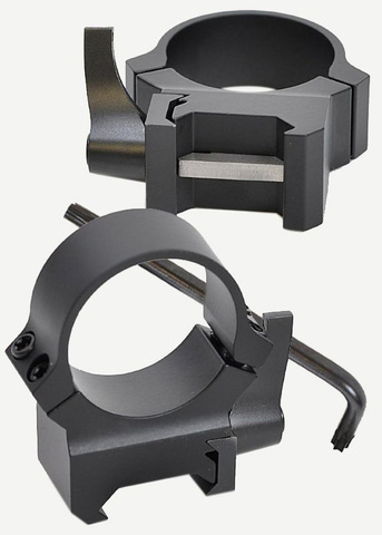 Кольца Leupold QRW2 на Weaver 25,4 мм, высокие