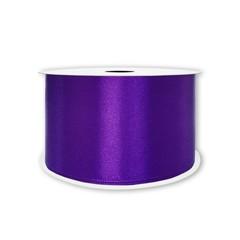 Лента атласная Фиолетовый, 7 мм * 22,85 м.