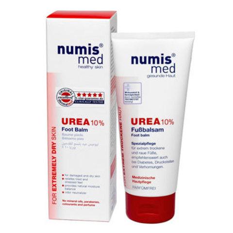 Бальзам для ног с 10% мочевиной  Numis Med, 100 мл (срок годности до 08.2021)